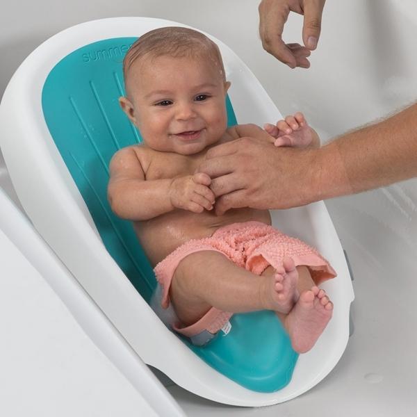 Summer Infant Μπανάκι Μωρού Clean Rinse, Teal