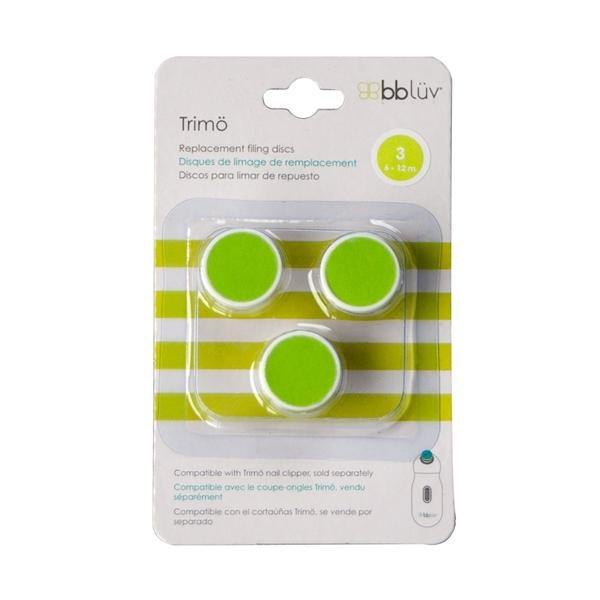 bbluv- Trimo Ανταλλακτικοί Δίσκοι Ηλεκτρικής Λίμας, Πράσινο (6-12μηνών)
