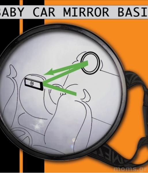 Little Luca Καθρέφτης για το αυτοκίνητο (για ανάποδα καθίσματα)