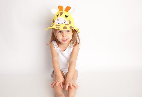 Zoocchini Αντηλιακό Καπέλο UPF50+ Καμηλοπάρδαλη