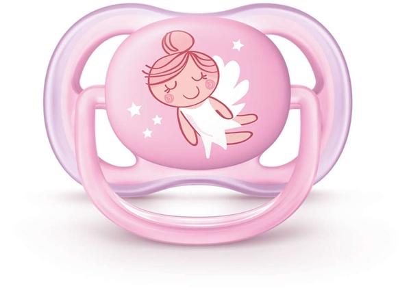 Philips Avent Πιπίλα Ultra Air, 0-6 μηνών+, girl (2 τεμάχια)