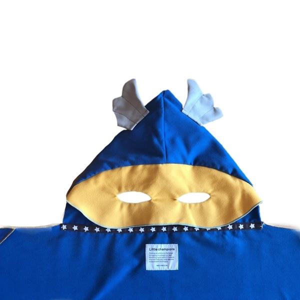 Little Champions Πόντσο / Πετσέτα Microfiber, Superhero Blue