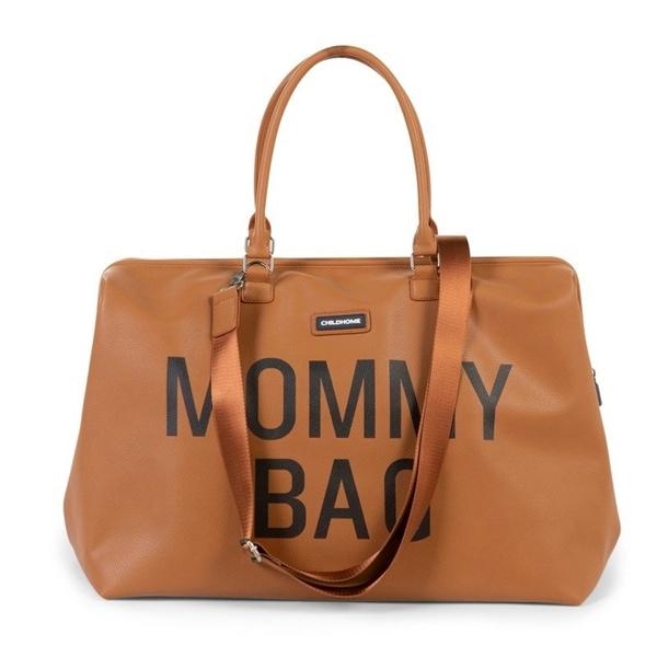 Childhome Τσάντα Αλλαγής Mommy Bag Leatherlook Brown