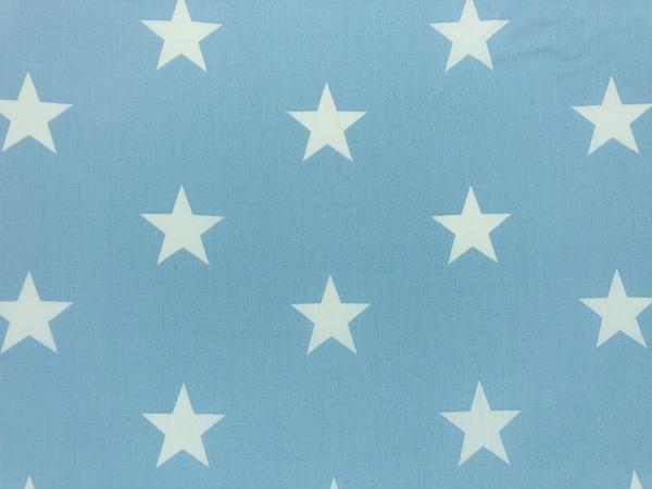 Καρφιτσωμένος Γάτος - Αδιαβροχο Κάλλυμα Αλλαγής - Γαλάζια Αστέρια