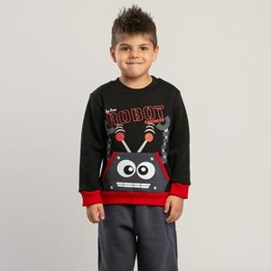 TRAX Παιδικό Σετ Φόρμας Αγόρι Robot, Κόκκινο