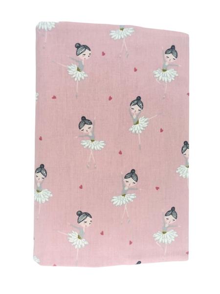 Καρφιτσωμένος Γάτος - Υφασμάτινη Θήκη για Βιβλιάριο Υγείας - Pink Ballerinas