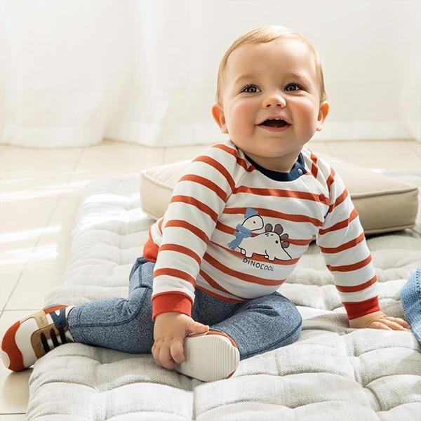 Mayoral Σετ 4 Τεμαχίων Με Δεινόσαυρους Νεογέννητο Αγόρι,Γκρί