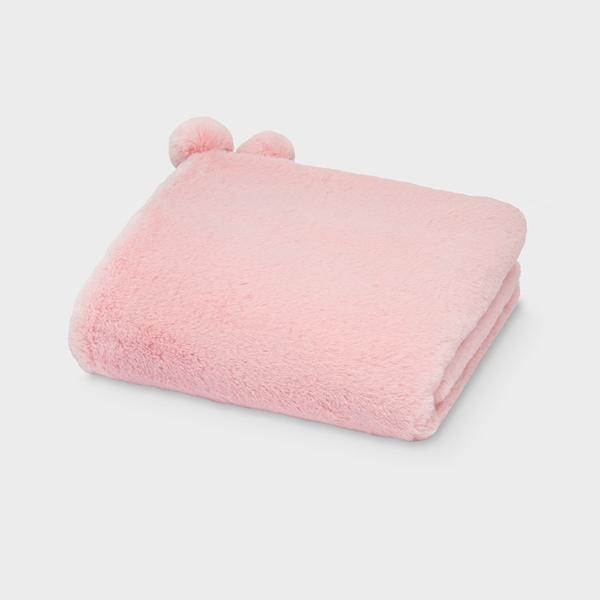 Mayoral Κουβέρτα Γουνάκι baby Ροζ