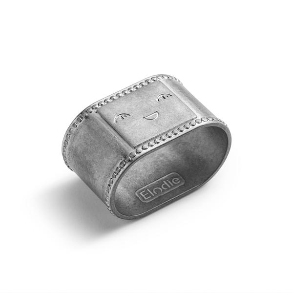 Elodie Details Κρίκος Πετσέτας Φαγητού, Antique Silver