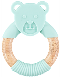 Nibbling Μασητικό Κρίκος Ted Bear Mint