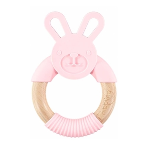 Nibbling Μασητικό Κρίκος Bo Bunny Pink