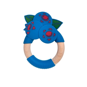 Nibbling Μασητικό Κρίκος Οδοντοφυίας Blueberry