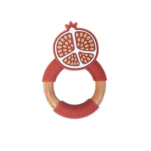 Nibbling Μασητικό Κρίκος Οδοντοφυίας Pomegranate