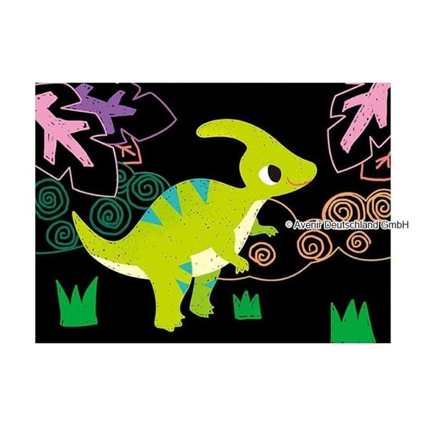 Avenir - Εικόνες με Scratch, Dinosaur