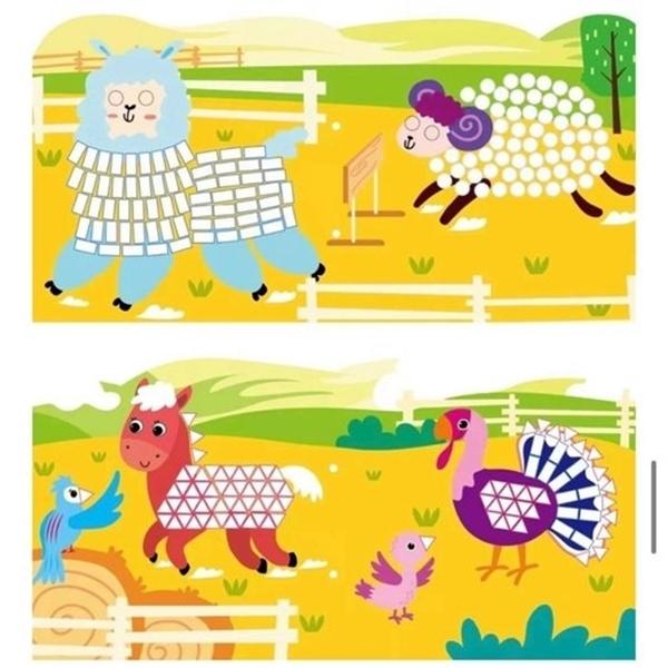 Avenir - Mosaic Junior, Farm Animals