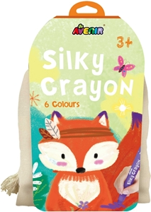 Avenir - Πουγκάκι με 6 Μεταξένια Κραγιόνια Silky Crayons Fox