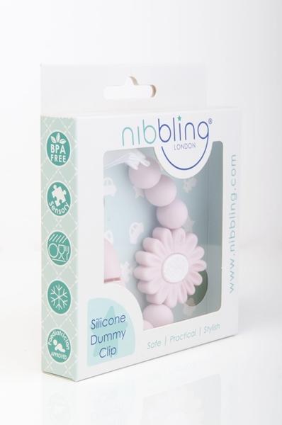 Nibbling Αλυσιδα Στήριξης Πιπίλας Petal Pink