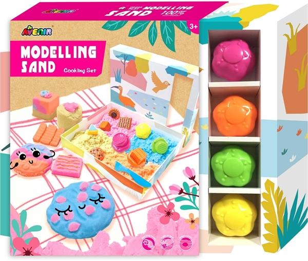 Avenir - Modelling Sand, Cooking Set