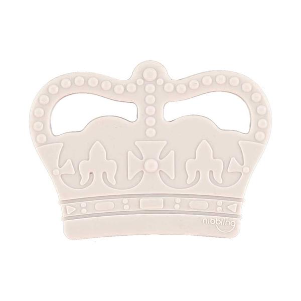 Nibbling Μασητικό Οδοντοφυίας Crown Grey