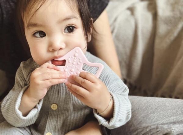 Nibbling Μασητικό Οδοντοφυίας Royal Baby Pink
