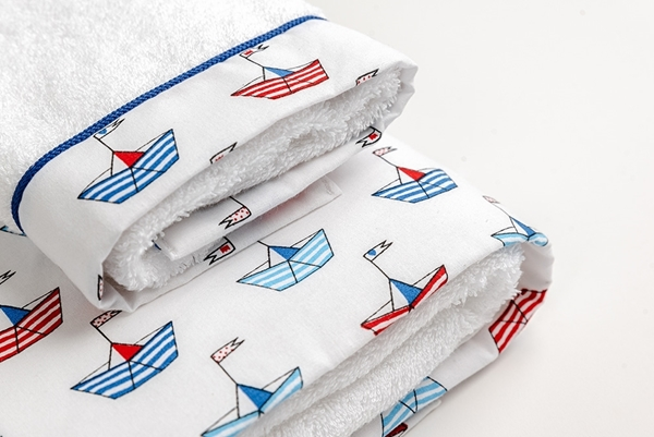 Mother Touch Σετ 2 Πετσέτες Petit Bateau