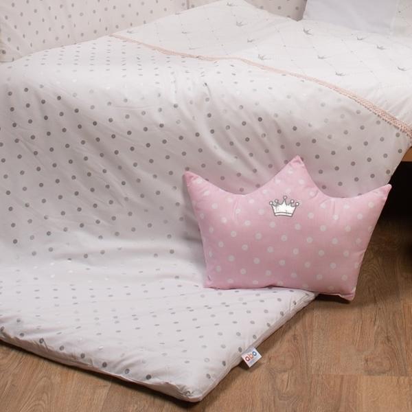 Abo Σετ Προίκας 9τμχ - Queens Crown Pink