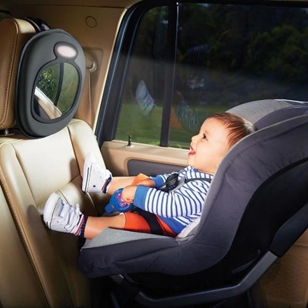Munchkin Καθρέπτης Ασφαλείας Brica Light Baby In Sight με Φως και Μουσική