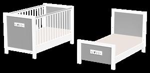CasaBaby Βρεφικό Κρεβάτι Petit