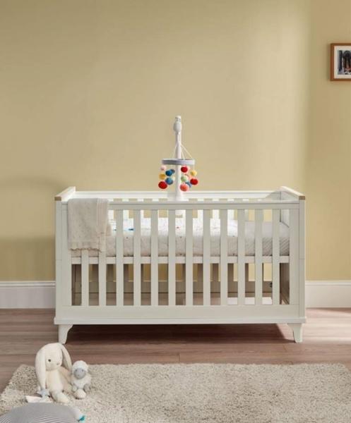 Mamas & Papas Βρεφικό Κρεβάτι Lucca Ivory/ Oak