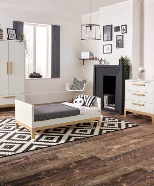 Mamas & Papas Βρεφικό Κρεβάτι Caprio Ivory/natural
