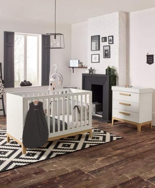 Mamas & Papas Βρεφικό Δωμάτιο Caprio Ivory/natural