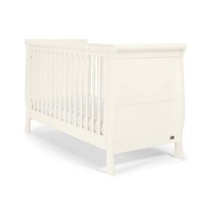 Mamas & Papas Βρεφικό Κρεβάτι Mia, Sleigh Ivory