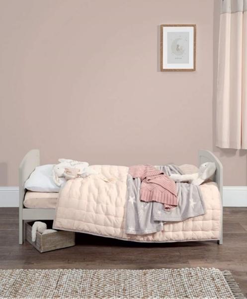 Mamas & Papas Βρεφικό Κρεβάτι Dover, Grey