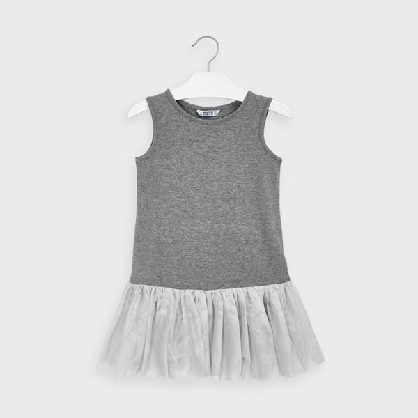 Mayoral Φόρεμα Πλεκτό Κορίτσι, Ρουζ
