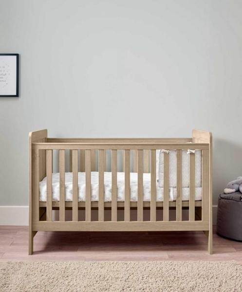 Mamas & Papas Βρεφικό Κρεβάτι Atlas, Oak