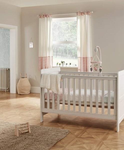 Mamas & Papas Βρεφικό Κρεβάτι Atlas, Nimbus White