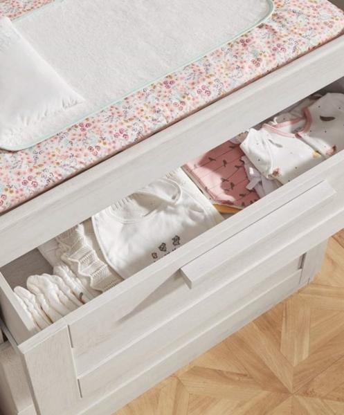 Mamas & Papas Συρταριέρα Atlas, Nimbus White