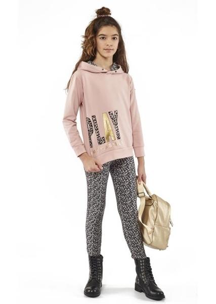 Εβίτα Fashion Σετ Φόρμας Κορίτσι Με Κολάν Play Ρόζ
