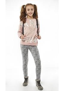Εβίτα Fashion Σετ Φόρμας Κορίτσι Paris Ροζ