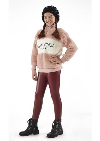Εβίτα Fashion Μπλούζα Φλίς Κορίτσι New York
