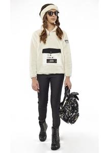 Εβίτα Fashion Μπλούζα Φλίς Κορίτσι Με Τσέπη