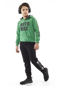 Hashtag Σετ Φόρμας Αγόρι HSTG Πράσινη