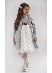 Εβίτα Fashion Σετ Φόρεμα Με Παλτό