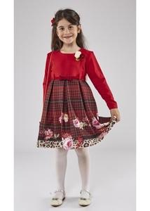 Εβίτα Fashion Σετ Φόρεμα Με Τσαντάκι Κόκκινο