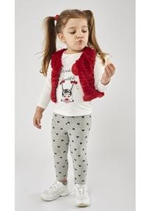 Εβίτα Fashion Σετ Κολάν Baby 3τμχ Κόκκινο