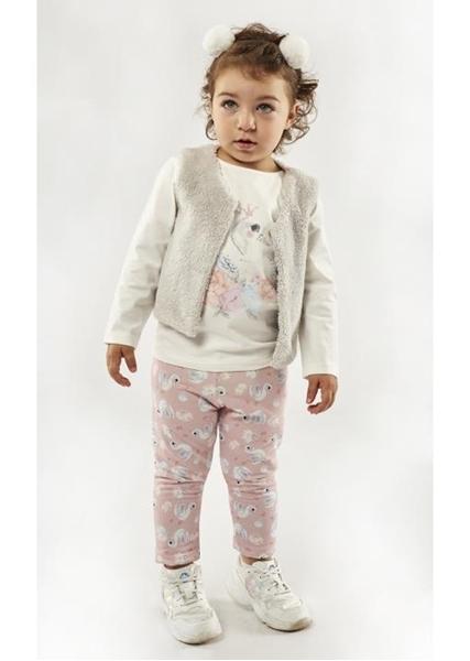 Εβίτα Fashion Σετ Κολάν Baby 3τμχ Κύκνοι