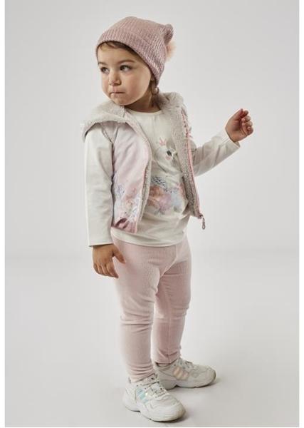 Εβίτα Fashion Σετ Κολάν Με Γιλέκο Baby 3τμχ Κύκνοι