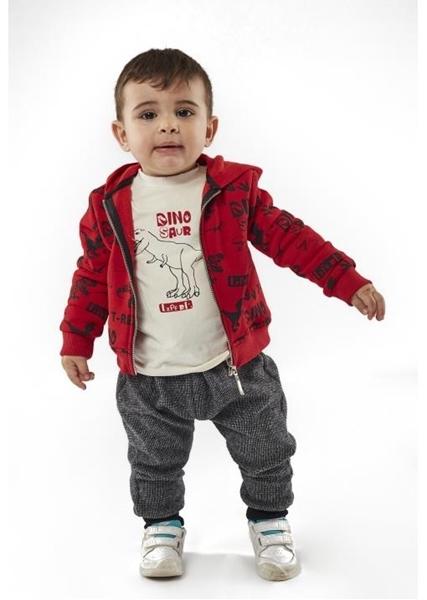 Hashtag Σετ 3 τμχ Φόρμα Baby T-Rex