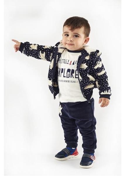 Hashtag Σετ 3 τμχ Φόρμα Baby Με Αρκουδάκια