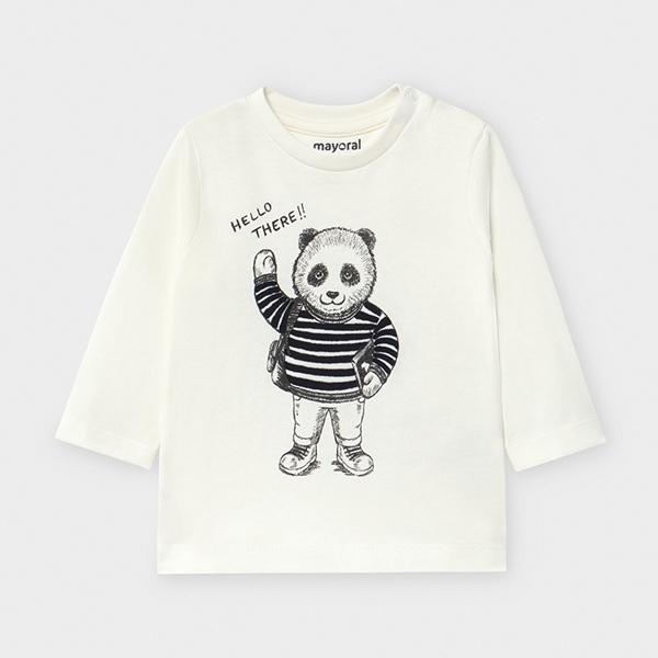 Mayoral Μπλούζα Μακρυμάνικη Panda